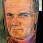 Tatuaż Jan Paweł